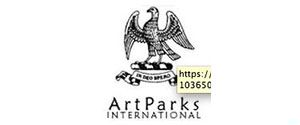 Logo ArtParks, International, Guernsey, UK