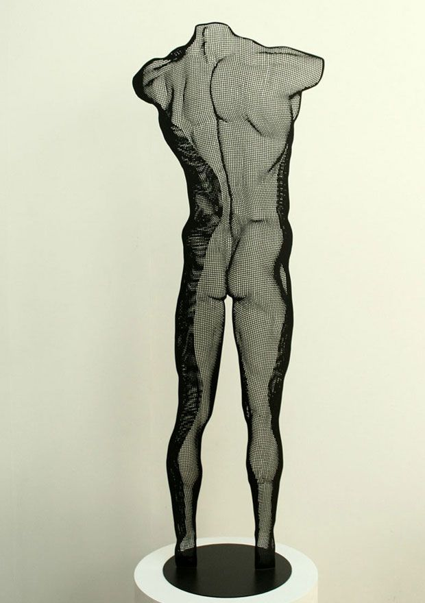 Figurative metal sculpture in limited edition series